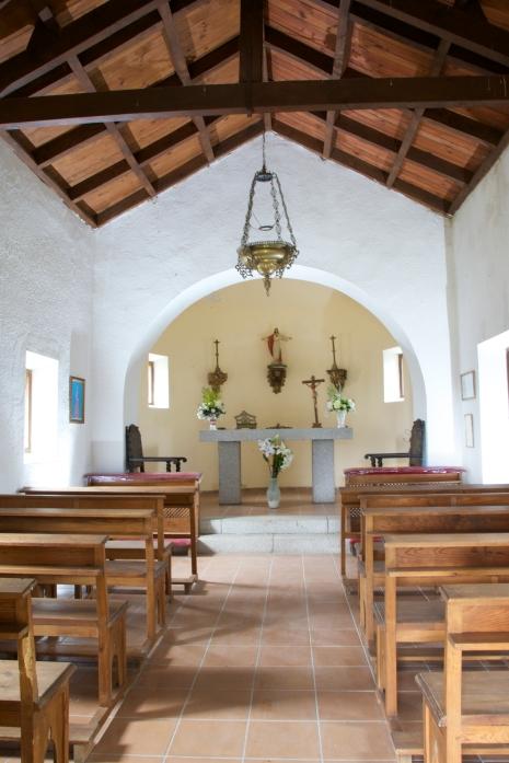 interior capilla Finca El Tomillar