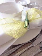 Detalle mesa de boda