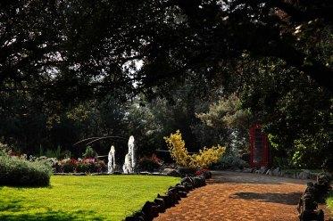 jardines y fuente finca el tomillar