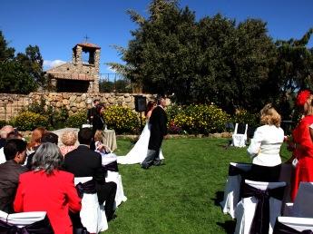 novios boda civil el tomillar